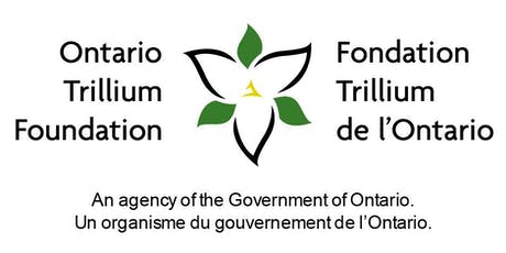 Applying for an OTF Grow grant? Join us for a workshop in Pickering! tickets