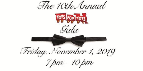 10th Annual (and FINAL) Toys for Tots Gala tickets