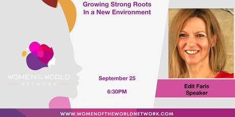 Woodlands, TX Chapter: Growing Strong Roots in a New Environment tickets