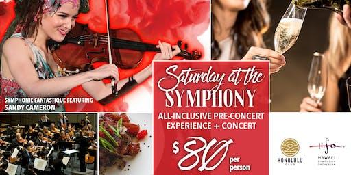 Symphonie Fantastique! Saturday at the Symphony