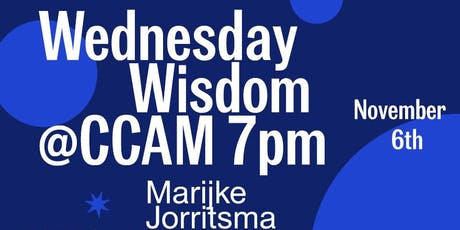 CCAM Wednesday Wisdom with Marijke Jorritsma: Computer as Collaborator tickets