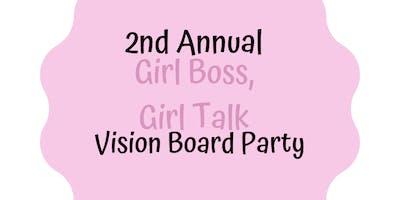 2019 Girl Boss, Girl Talk Vision Board Party