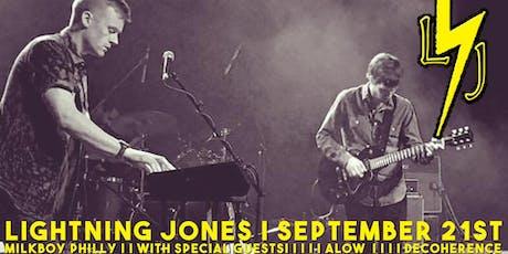 Lightning Jones tickets