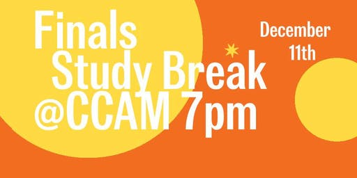 CCAM Finals Study Break: Winter Wellness