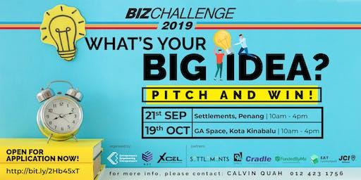 BizChallenge 2019 Pulau Pinang (Audience Ticket)