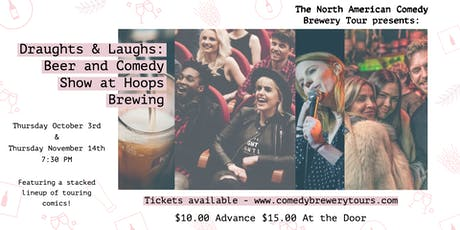 Draughts & Laughs: Beer and Comedy Show at Hoops Brewing tickets