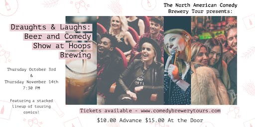 Draughts & Laughs: Beer and Comedy Show at Hoops Brewing