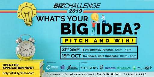 BizChallenge 2019 Kota Kinabalu (Audience Ticket)