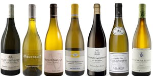 Monthly White Burgundy Tasting