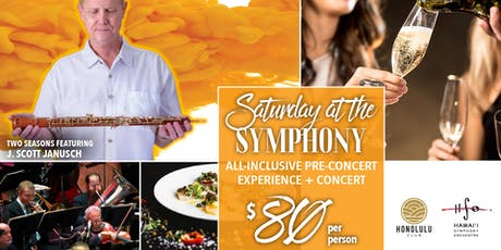 Two Seasons - Saturday at the Symphony tickets