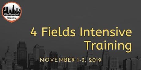 4 Fields Intensive Training tickets