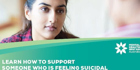 Mental Health First Aid: for the suicidal person (short 4 hour course) tickets