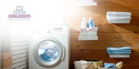 Os segredos da lavanderia - By Kelli Rizzardi / Personal Organizer ingressos
