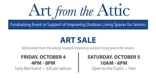 Art from the Attic - Early Bird Event