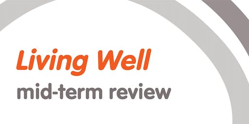 Living Well Mid-Term Review - Lived Experience workshop and South Indian Photovoice project 21 Sept 2019