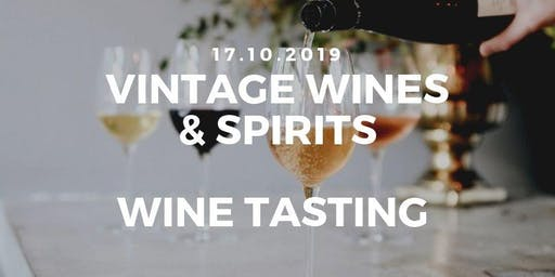 Vintage Wines And Spirits | Wine Tasting Event