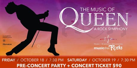 The Music of Queen All-Inclusive tickets