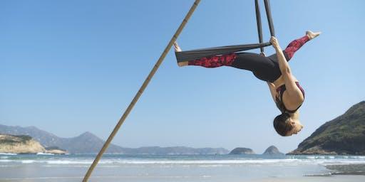 Beach Aerial Yoga Workshop - int/advanced (October)