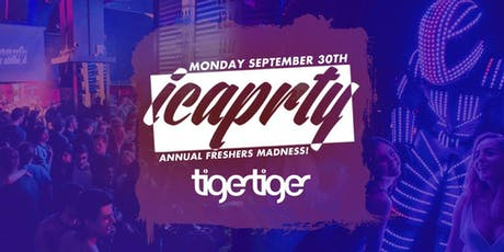 IC a PRTY at Tiger Tiger! tickets