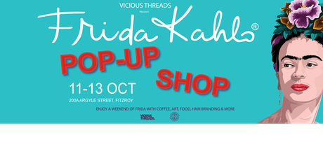 Frida Kahlo Pop-Up store tickets