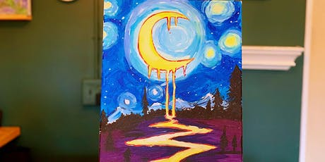 THINGS TO DO -PAINT & SIP:THE MOON TONIGHT tickets