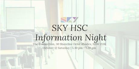SKY HSC Information Night tickets