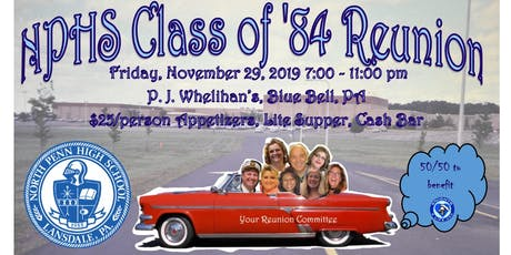 North Penn High School Class of '84 Reunion tickets