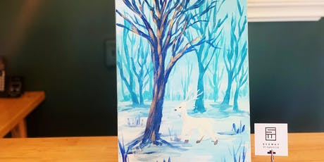 THINGS TO DO -PAINT & SIP: WINTER DEER tickets