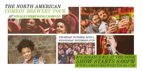 The North American Comedy Brewery Tour at Voyageur Brewing tickets