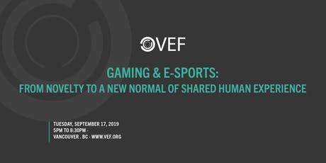 VEF: Gaming/E-Sports tickets