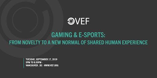 VEF: Gaming/E-Sports