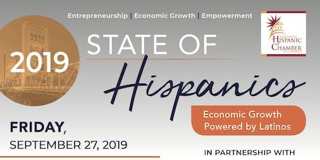 2019 State of Hispanics: Entrepreneurship-Economic Growth-Empowerment tickets