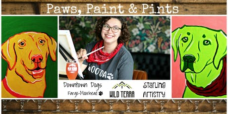 Paws, Paint & Pints 10/14 tickets