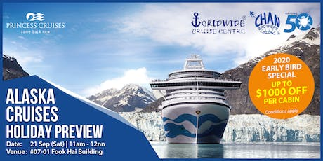 Alaska Cruises Holiday Preview tickets