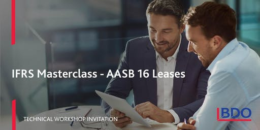 AASB 16 Leases Masterclass 2019 - 14 November