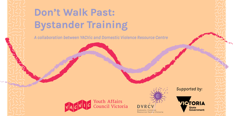 Don't Walk Past - Bystander action in the workplace to prevent violence against women tickets