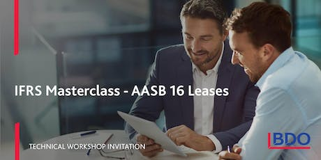 AASB 16 Leases Masterclass 2019 - 28 November tickets