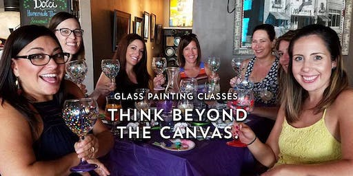 Coffee Cup Glass Painting @ Urban Alchemy Coffee & Wine Bar 09/19 @ 7pm