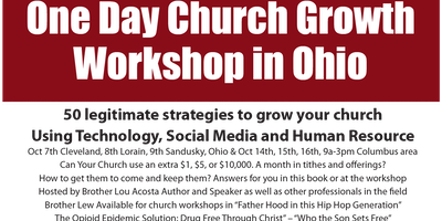 50 Legitimate Strategies to Grow Your Church:Technology,Social Media, People