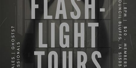 Impact CB Squirrel Cage Jail Flashlight Tours tickets