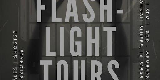 Impact CB Squirrel Cage Jail Flashlight Tours