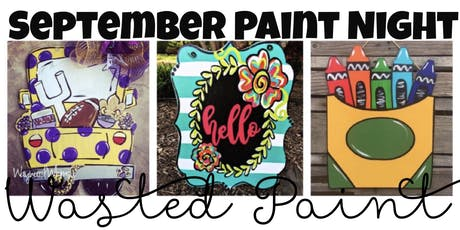 September Paint Night tickets