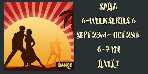 6-WEEK SALSA LEVEL 1: SERIES #6