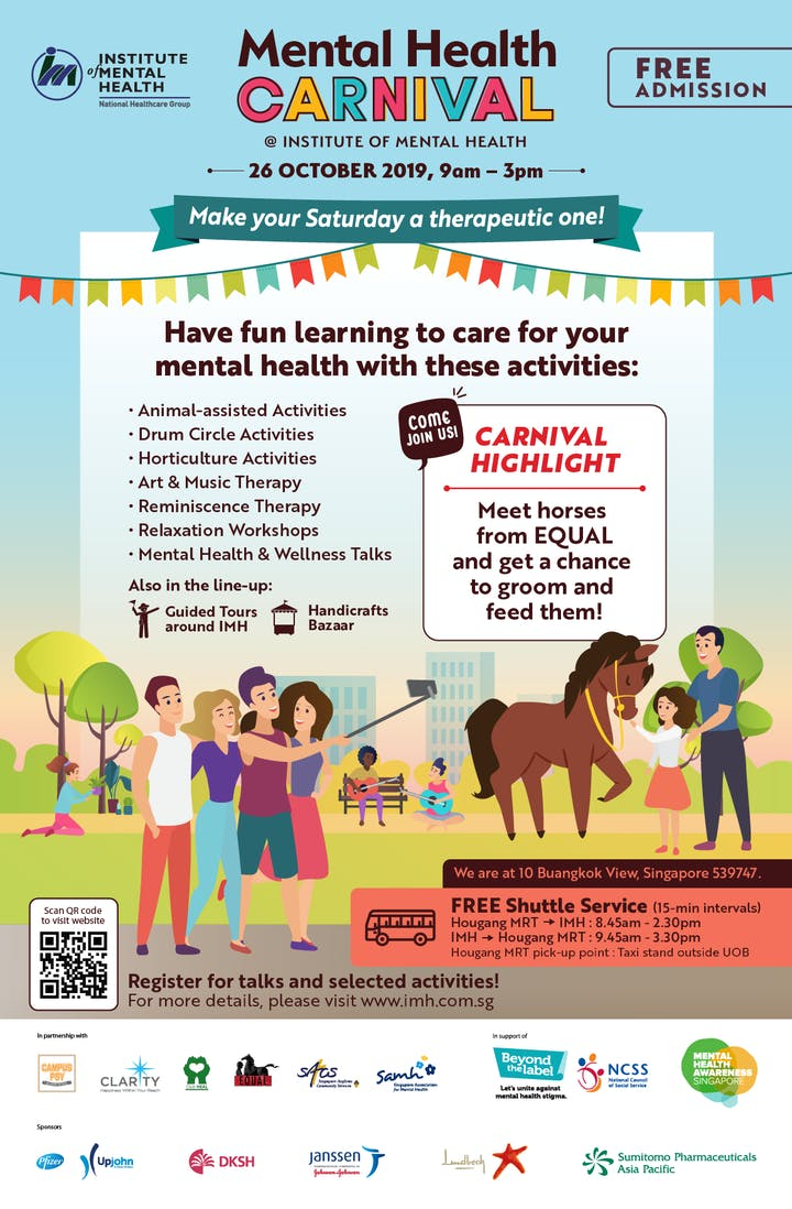 Mental Health Carnival (MHC) 2019 Tickets, Sat 26 Oct 2019