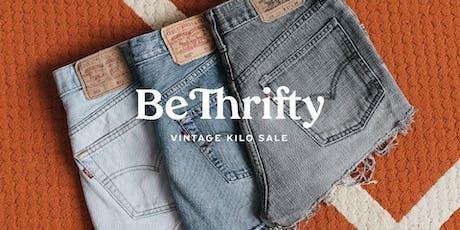 BeThrifty Vintage Kilo Sale Tickets