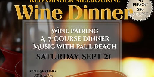 A 7-Course Wine Dinner
