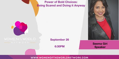 Women of the World Network San Francisco, CA: Power of Bold Choices tickets