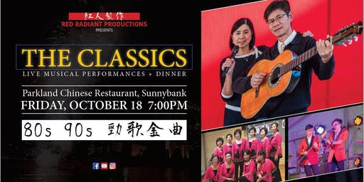'THE CLASSICS' Live Musical Performances + Dinner