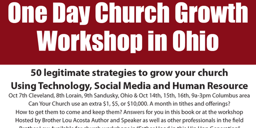 50 Legitimate Strategies to Grow Your Church; Technology Social Media People