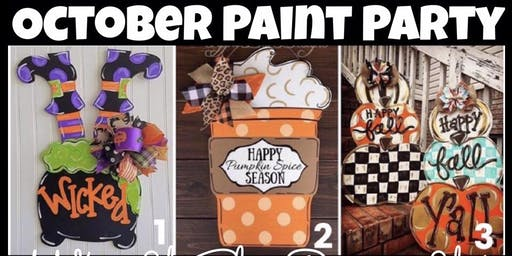 October Wasted Paint Party